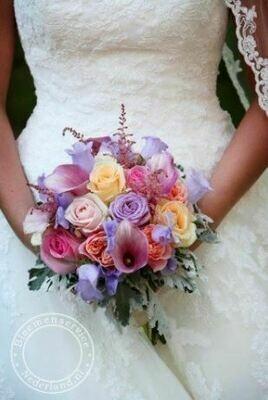 Bruidsboeket Aria