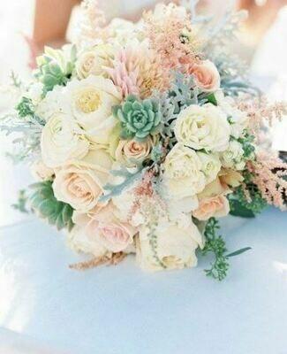 Bruidsboeket Pastel Flavours