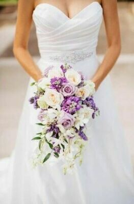 Bruidsboeket Lavendel