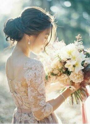 Bruidsboeket Soft Sensation