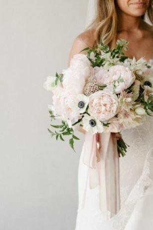 Bruidsboeket Anemone Love