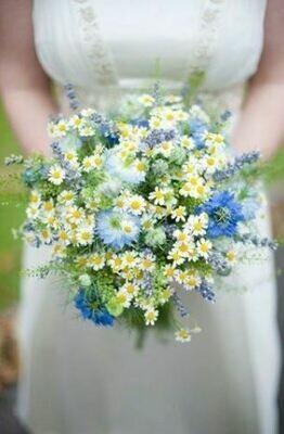Bruidsboeket Sweet Garden