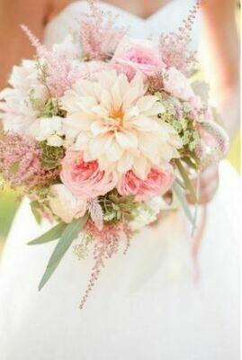 Bruidsboeket Dahlia Dream