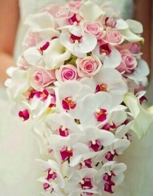 Bruidsboeket Orchid Waterfalls