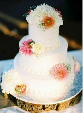Bruidstaart bloemen Sweets