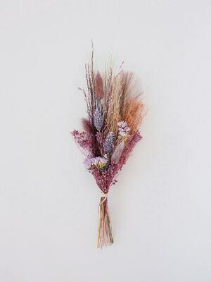 Mini boektje Purple met unieke kaart naar keuze