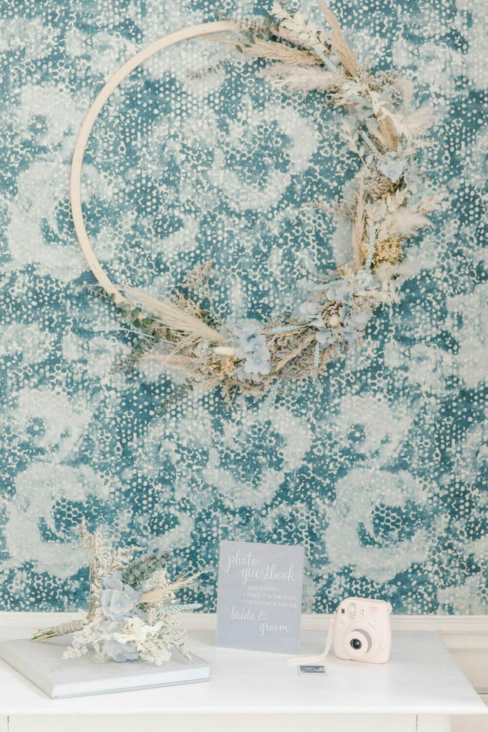 Light blue collectie: grote foto frame hoepel