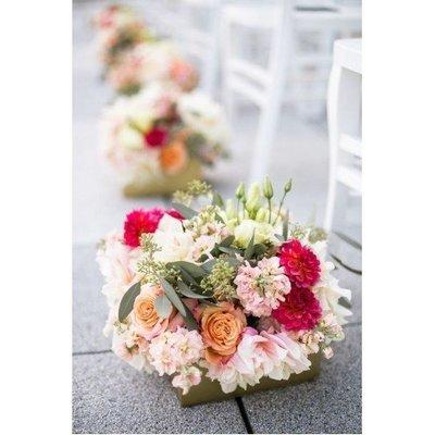 Fleurig gangpad/ tafelstuk (herinzetbaar)