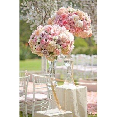 Tafel/ceremonie decoratie groot (mooi in te zetten tijdens ceremonie EN diner)