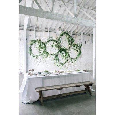 Tafel decoratie groot infinity