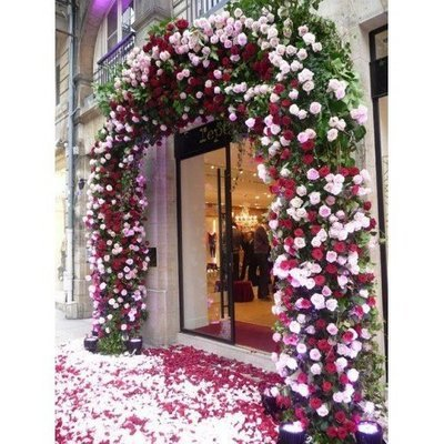 Bloemenboog Paris