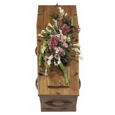 Kistbeddekking bloemrijk
