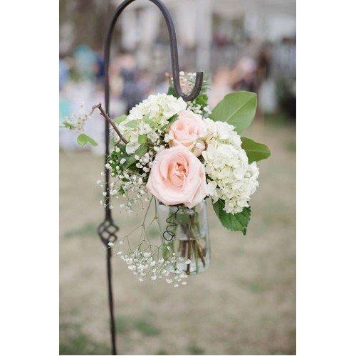 Romantisch bloemstuk inclusief pin