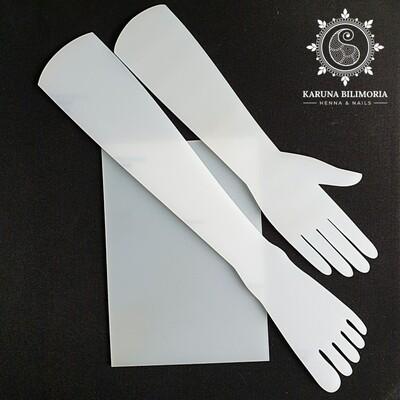 Hand, Foot & A4 Template set