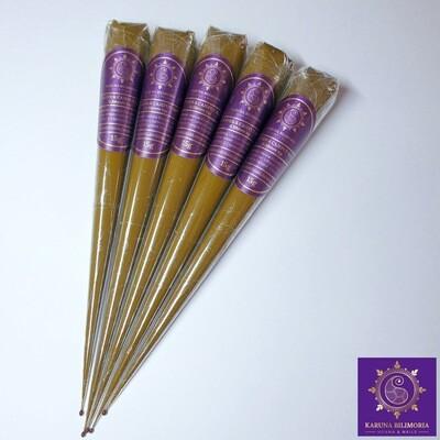 3 x 15g Henna Cones (0.38mm tip)