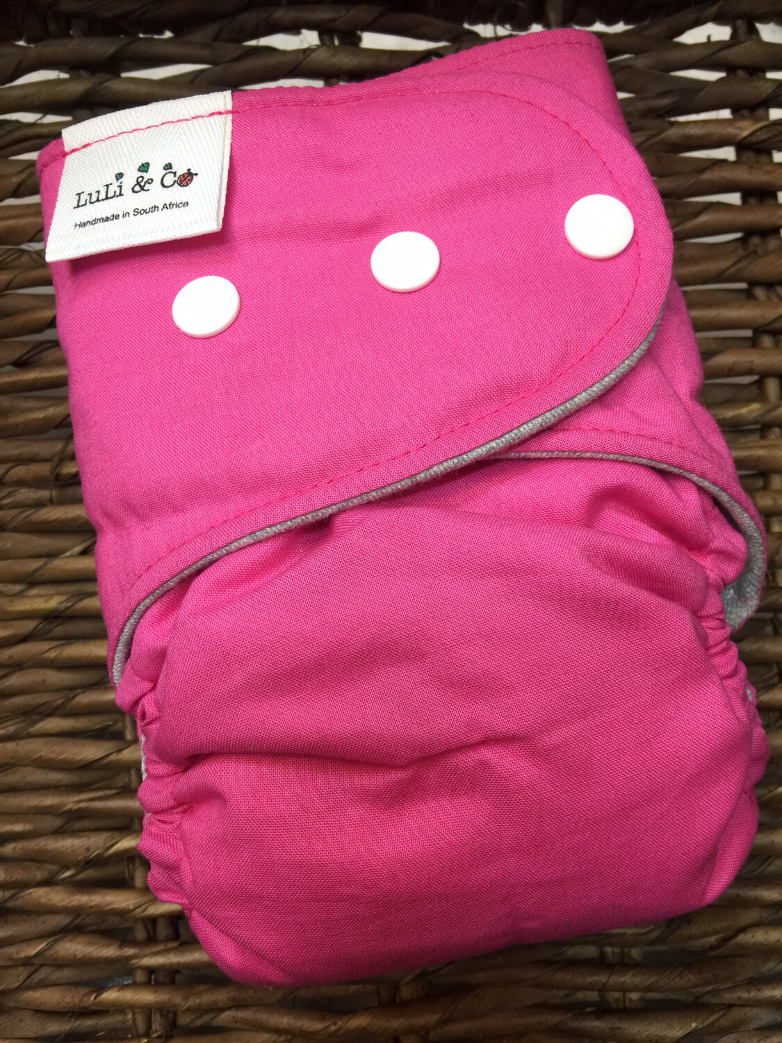 Snap In One-Candy Pink (Newborn)