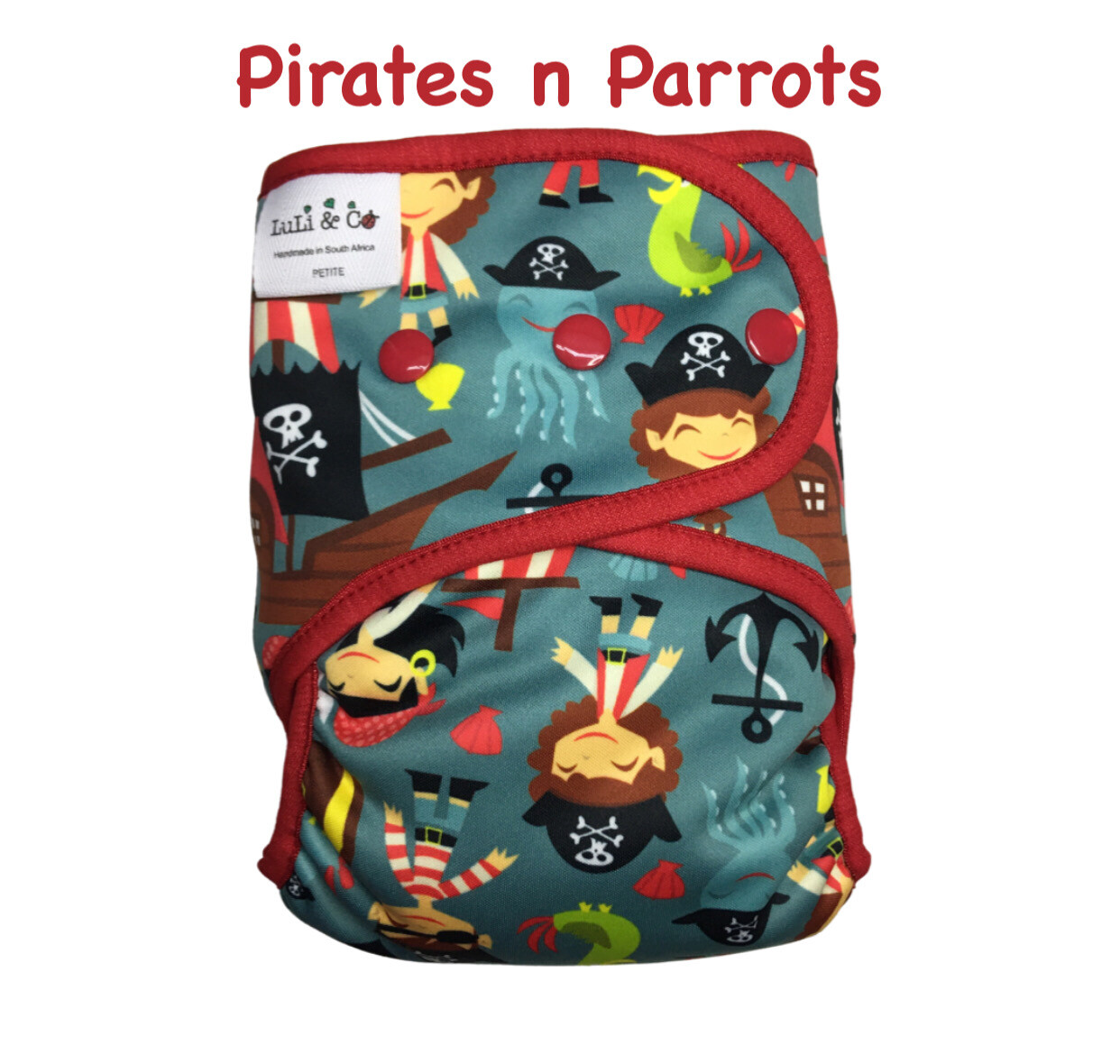 SOFTSHELL COVER - PIRATES & PARROTS