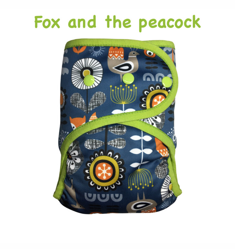 SOFTSHELL COVER - FOX & THE PEACOCK