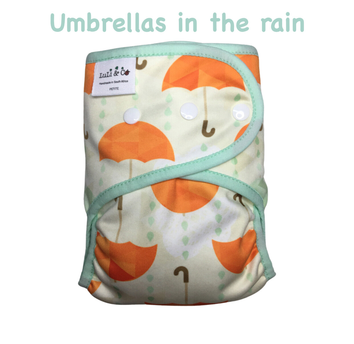SOFTSHELL COVER - UMBRELLAS IN THE RAIN