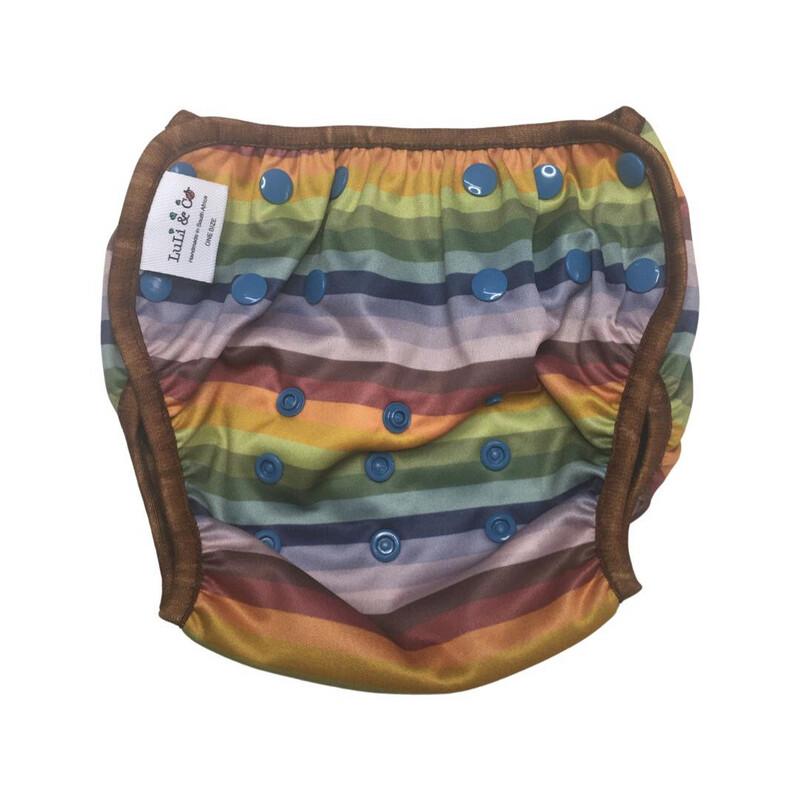 Swim Nappy - Vintage Stripes