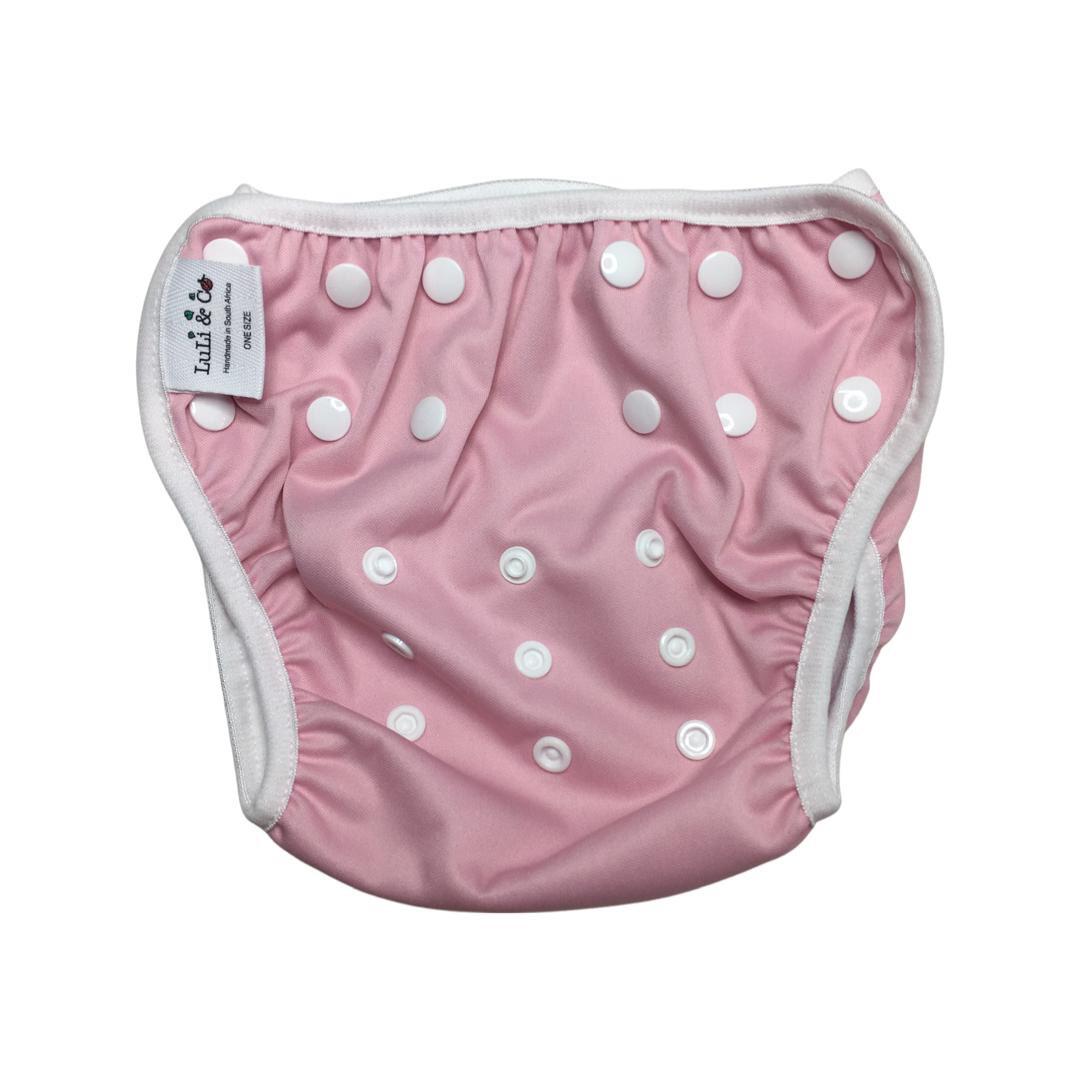 Swim Nappy - Baby Pink