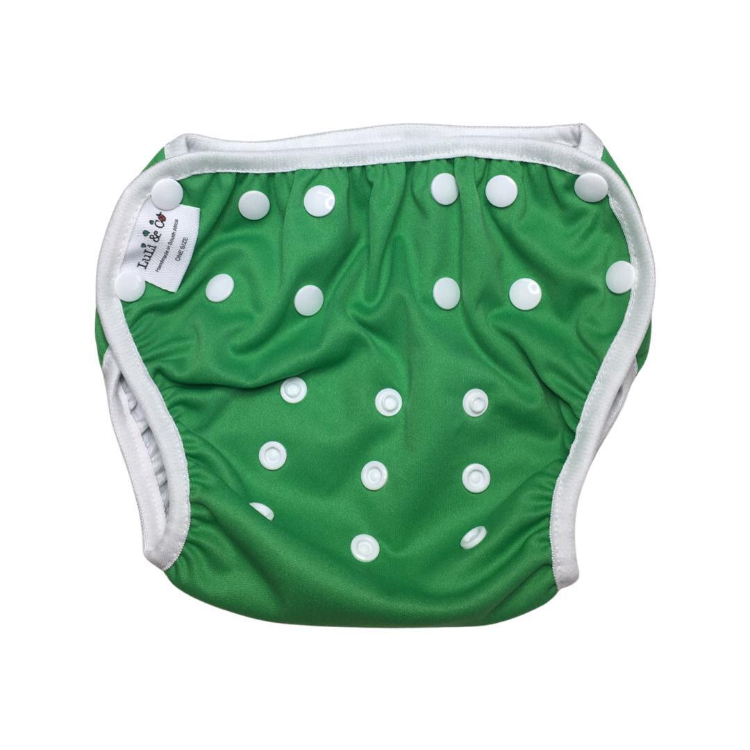 Swim Nappy - Green