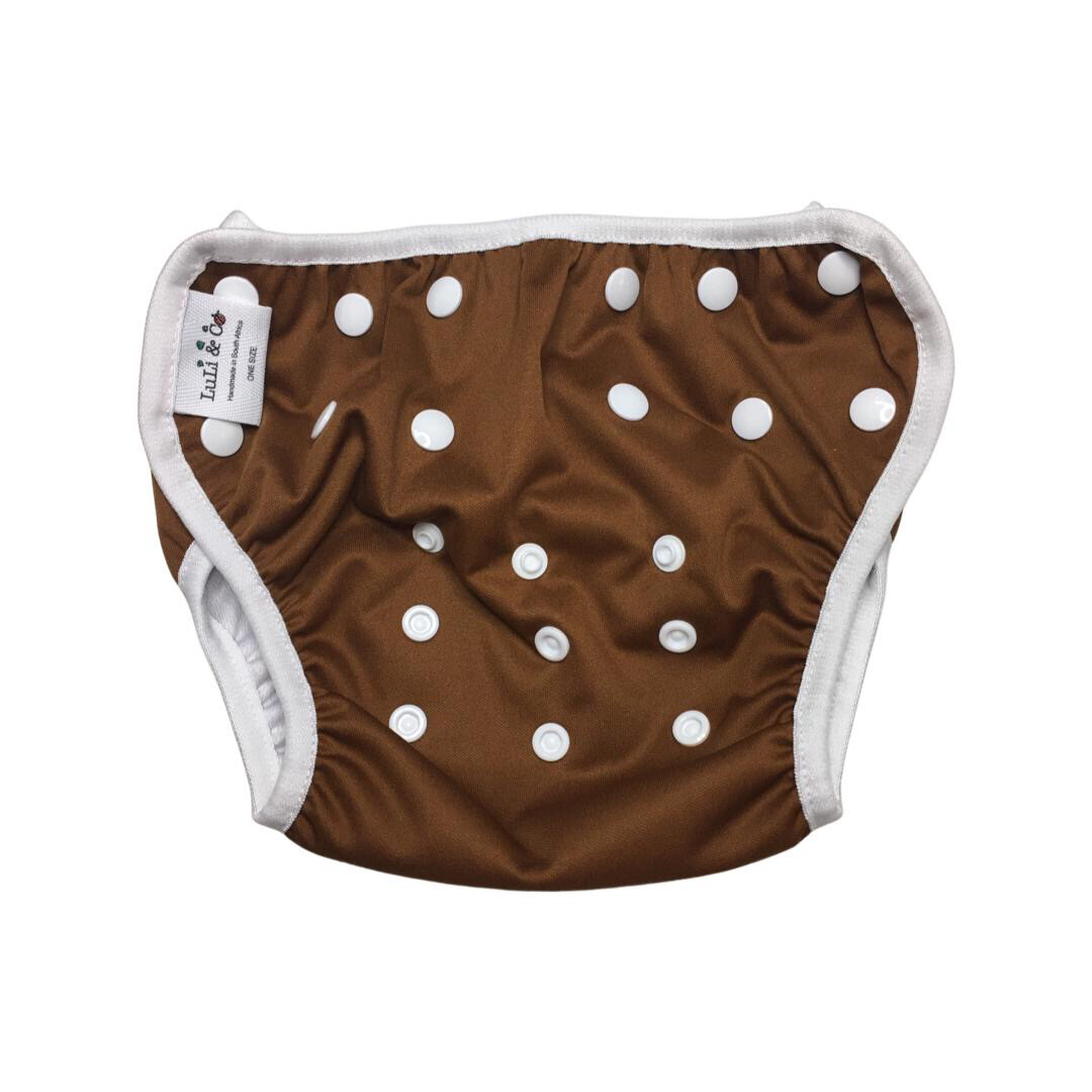 Swim Nappy - Chocolate