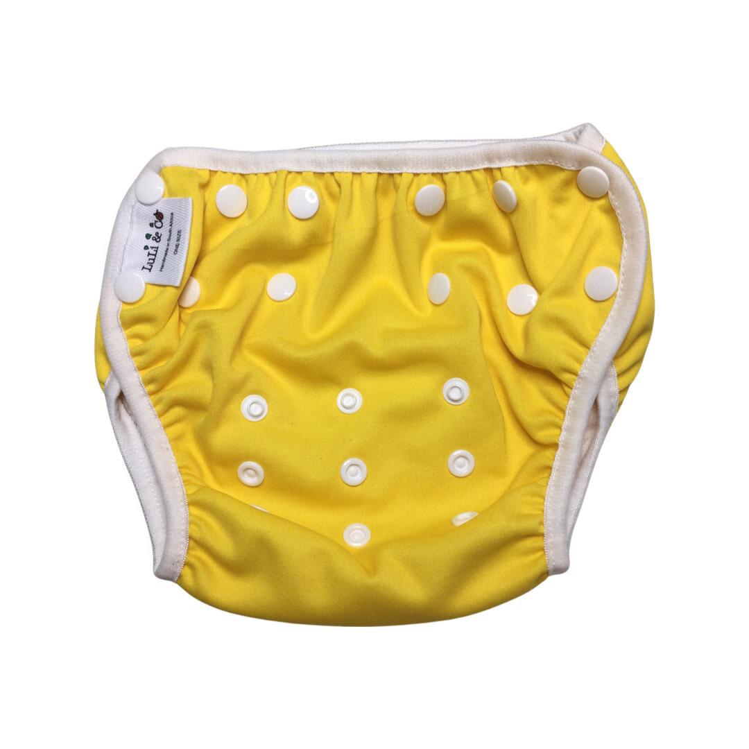 Swim Nappy - Yellow
