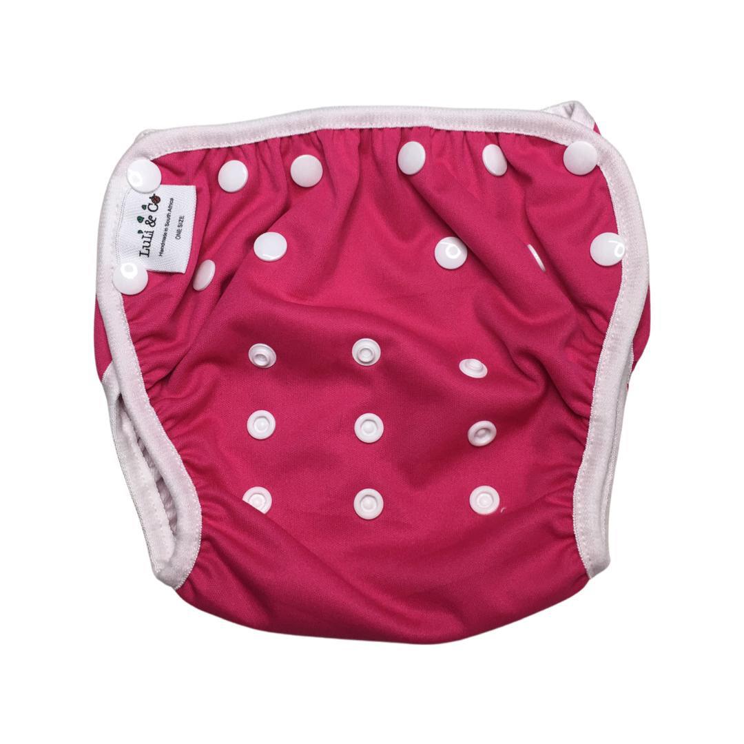 Swim Nappy - Hot Pink