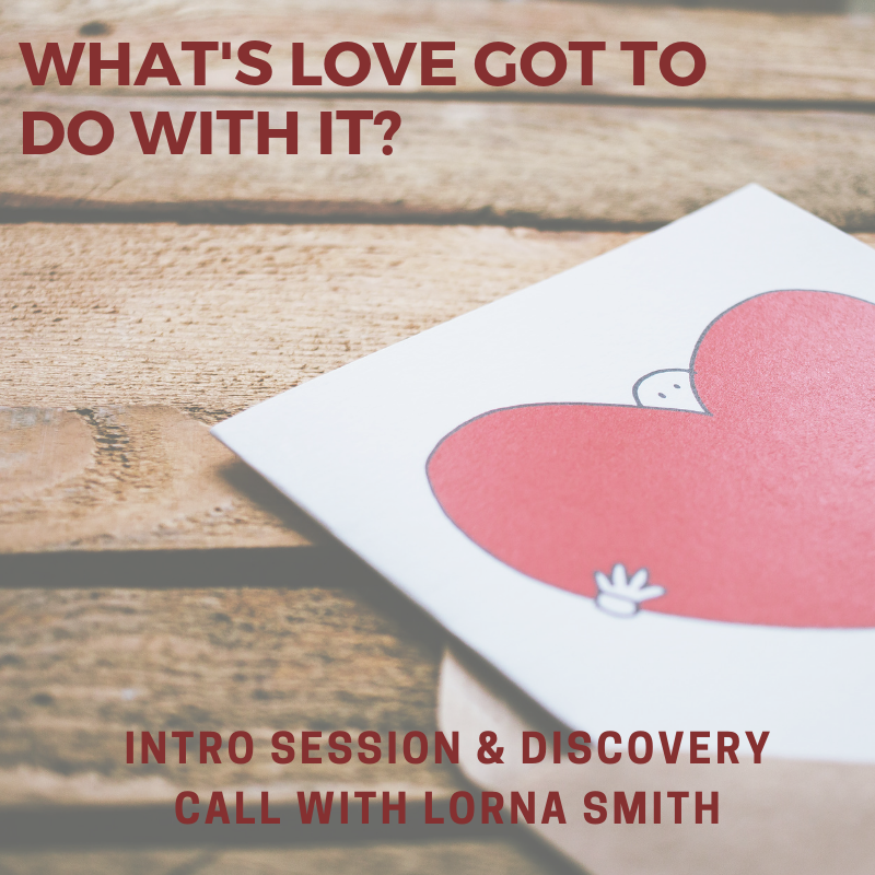 Free discovery call plus 50% off an introductory session with Lorna Smith ($150 value)