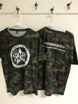 Men's Wags Army Camo T-Shirt