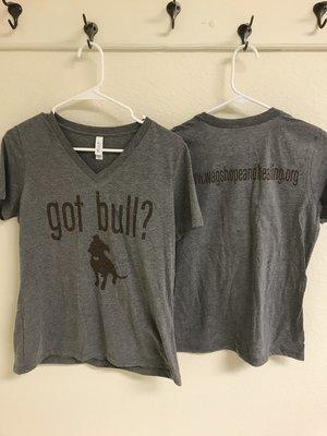 Women's Got Bull? V-Neck T-shirt