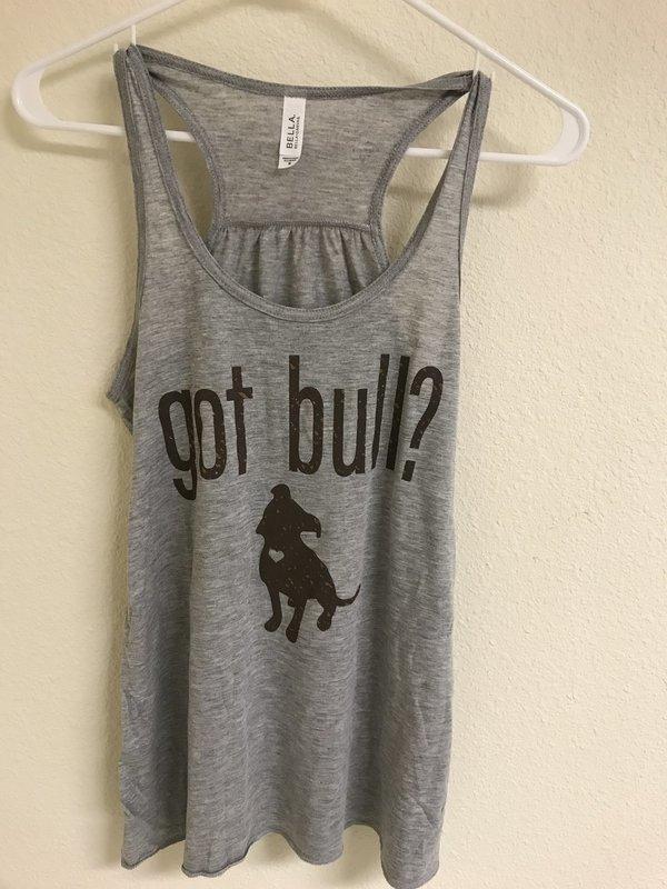 Women's Got Bull? Flowy Tank Top