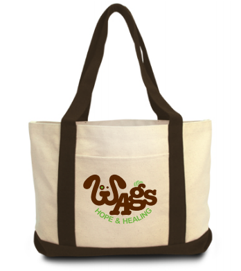 Wags Canvas Tote