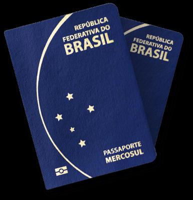 Solicitação Passaporte Comum - Crianças de +1 a 4 anos