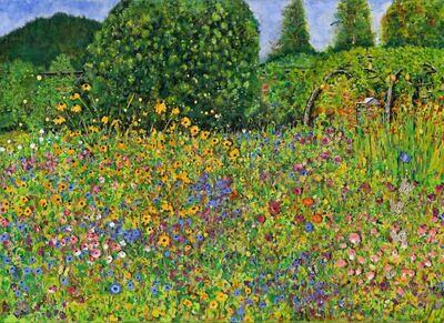 Prinknash Abbey Gardens ( Giclee Print )