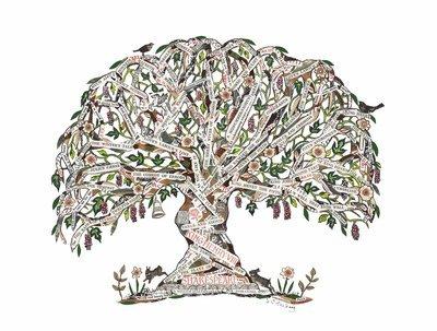 Shakespeare Tree  mounted print