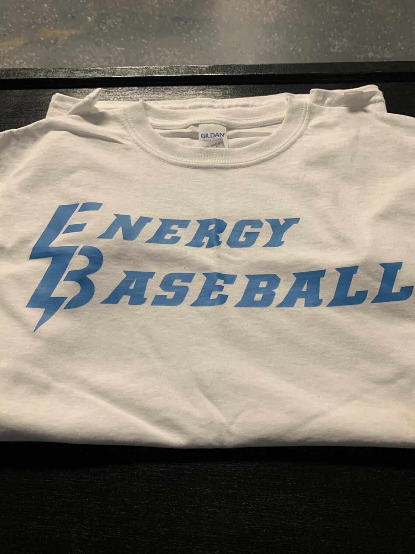 Energy Baseball Cotton T-Shirt