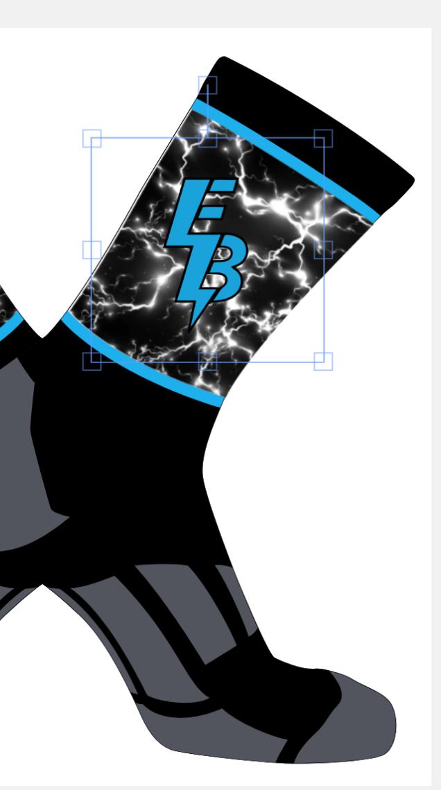 Custom Energy Baseball Sublimated Game Socks