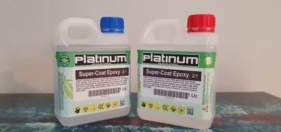 Super Coat Epoxy Resin by Platinum 3 litres