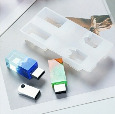 USB DRIVE SILICONE MOLD/DIY/ USB not included
