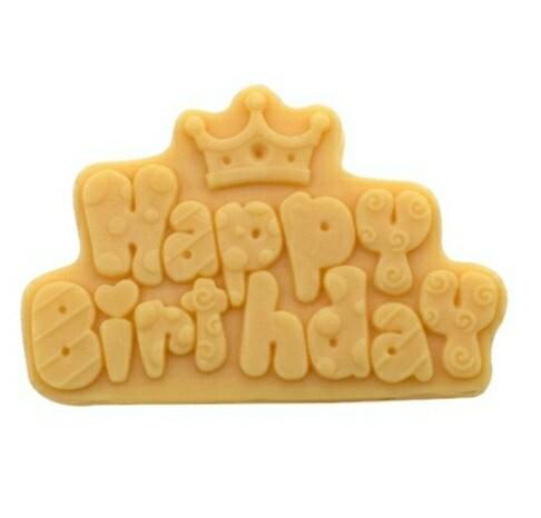 HAPPY BIRTHDAY SILICONE MOLD /DIY, Cake Decorations