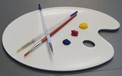 ARTIST COLOR PALETTE MOLD