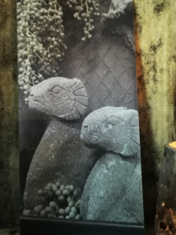 Kadokaart L stenen ram