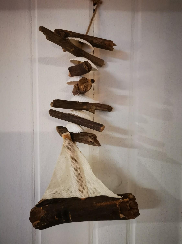 Driftwood guirlande maritiem