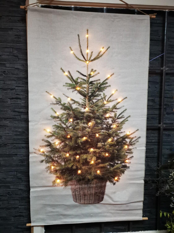 kerstboom met led 60x110cm