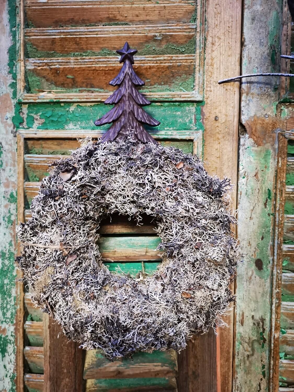 Gietijzeren kast hanger kerstboom