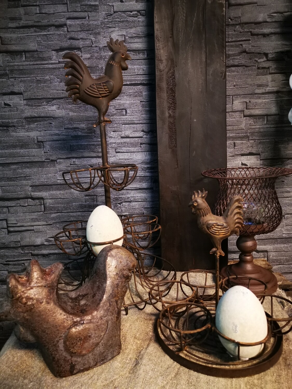 Eierenrek roest metaal 9