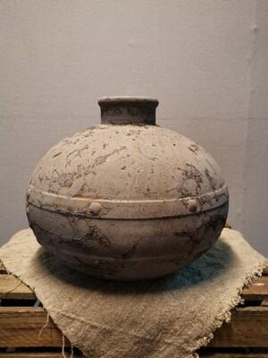 Stenen kruik model waterkruik, grijs
