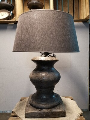Grote Balusterlamp incl kap